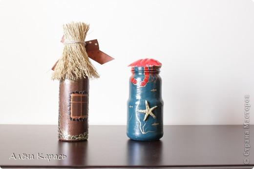 Бутылочка краб. краб привезла из Вьетнама.и ракушки тоже фото 3