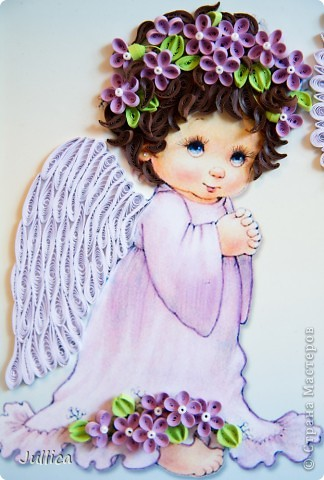 Квиллинг Ангелочки