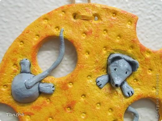 Вот такие мышки получились. Вдохновила меня Светлана Шишикина своими славными мышками- повторюшками от Мусички http://stranamasterov.ru/node/102465 фото 2