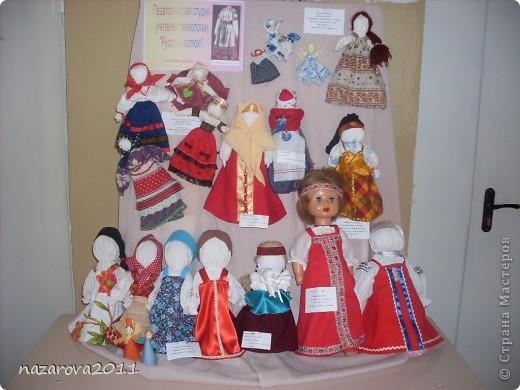 Выставка кукол, сделанных руками учащихся и учителей Шарьинских школ. фото 1
