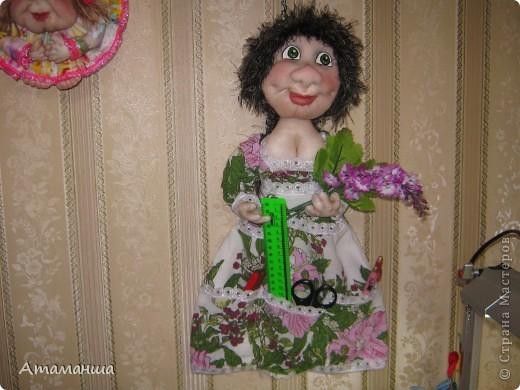 """Это моя любимая Настёна! Куколка с кармашками для мелочей. """"Ветка сирени упала на грудь, миленький мой, ты меня не забудь!"""""""