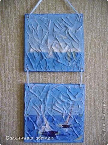 """Мое новое пано """"Прованс"""". Это вторая часть от салфетки, которую я уже использовала, но рисунок немного другой. фото 8"""