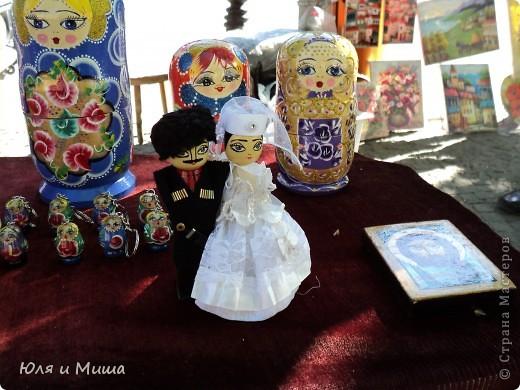 Продолжаем бродить по бульвару Тбилиси с выставкой-продажей всевозможных рукоделий. Сегодня предлагаю порассматривать кукол!   фото 5