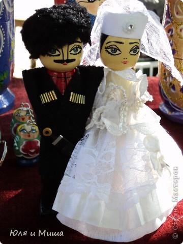 Продолжаем бродить по бульвару Тбилиси с выставкой-продажей всевозможных рукоделий. Сегодня предлагаю порассматривать кукол!   фото 6