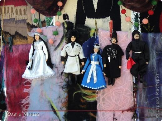 Продолжаем бродить по бульвару Тбилиси с выставкой-продажей всевозможных рукоделий. Сегодня предлагаю порассматривать кукол!   фото 8