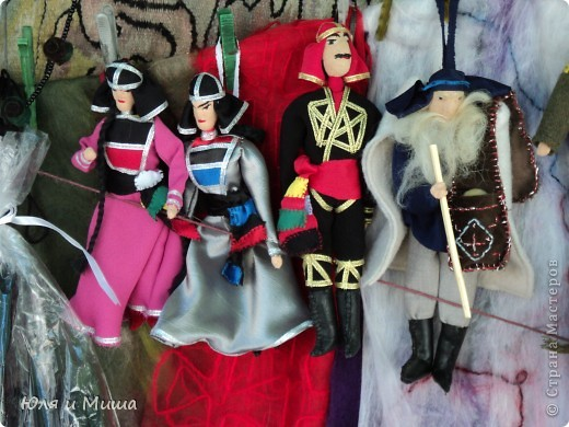 Продолжаем бродить по бульвару Тбилиси с выставкой-продажей всевозможных рукоделий. Сегодня предлагаю порассматривать кукол!   фото 11