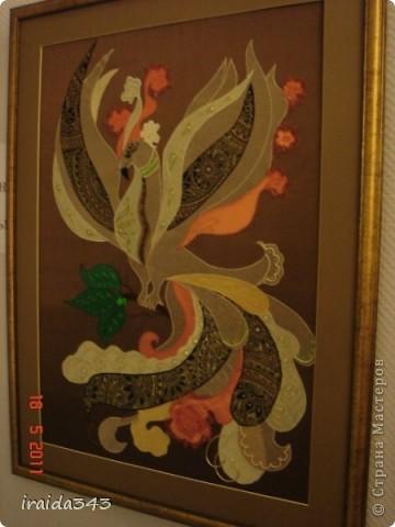 """В этом году, после небольшого перерыва, прошла выставка """"Марьины хороводы"""", посвященная образу птицы в текстиле. фото 23"""