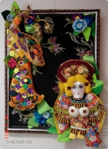 """В этом году, после небольшого перерыва, прошла выставка """"Марьины хороводы"""", посвященная образу птицы в текстиле. фото 25"""