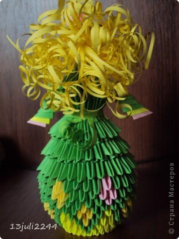 Идею создания такой вот куколки подсмотрела здесь http://stranamasterov.ru/node/165480  фото 3