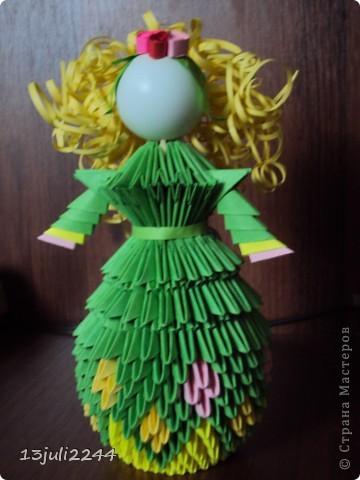 Идею создания такой вот куколки подсмотрела здесь http://stranamasterov.ru/node/165480  фото 5