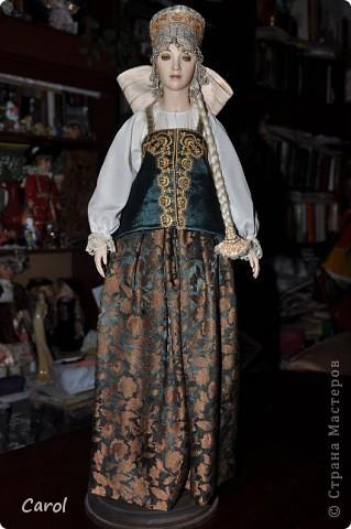 "Марвя - кукла из коллекции ""Александра"".Рост 68 см. фото 4"
