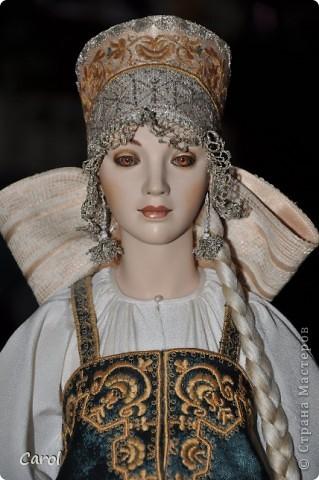 "Марвя - кукла из коллекции ""Александра"".Рост 68 см. фото 3"