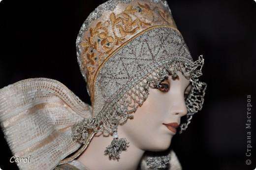 "Марвя - кукла из коллекции ""Александра"".Рост 68 см. фото 2"