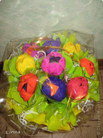 Букеты из конфет в мае. фото 3