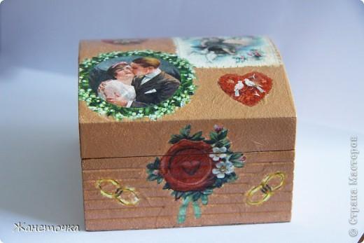 Маленькая шкатулка для невесты Верочки! фото 1