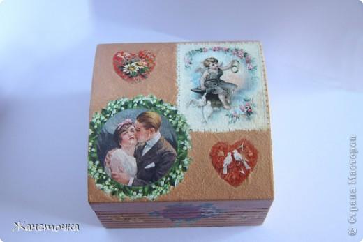 Маленькая шкатулка для невесты Верочки! фото 2