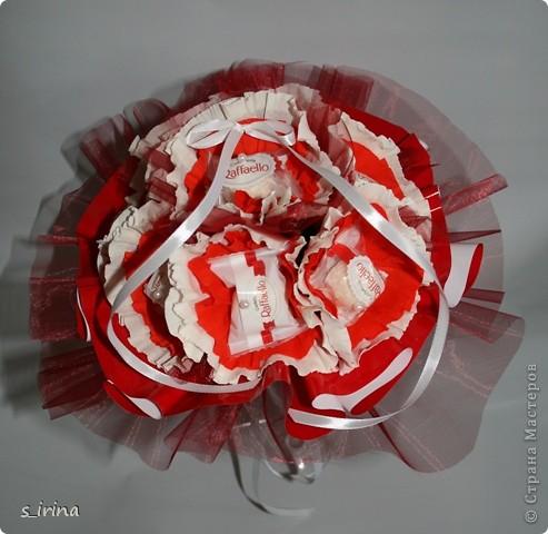 Букеты из конфет в мае. фото 5
