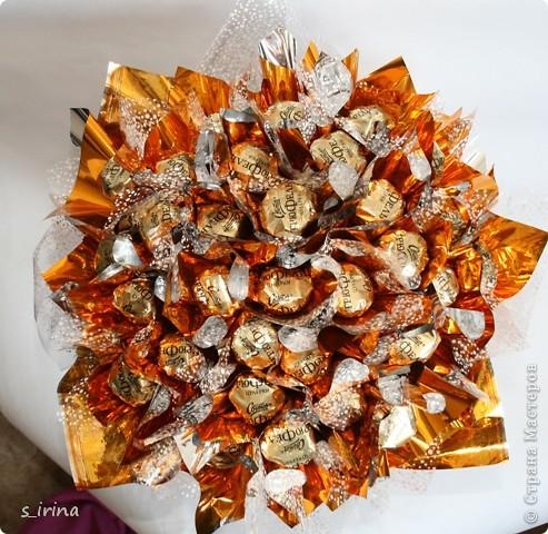 Букеты из конфет в мае. фото 10