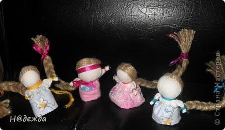 Вся компания кукол вместе. Делала для дочурок и для себя, но уже раздала. фото 1