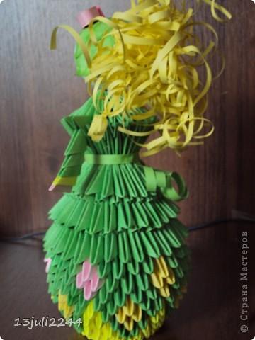 Идею создания такой вот куколки подсмотрела здесь http://stranamasterov.ru/node/165480  фото 2
