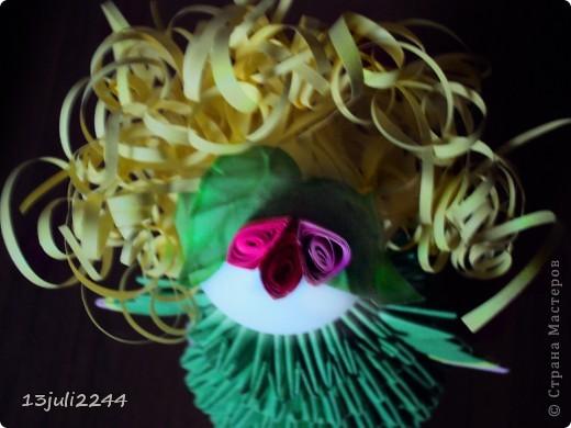 Идею создания такой вот куколки подсмотрела здесь http://stranamasterov.ru/node/165480  фото 4