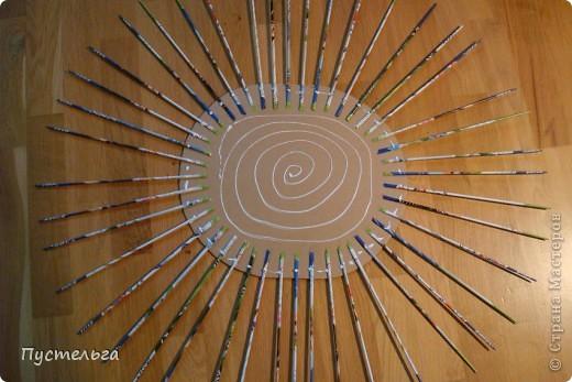 Мастер-класс Поделка изделие Плетение Котькин дом Бумага газетная фото 2