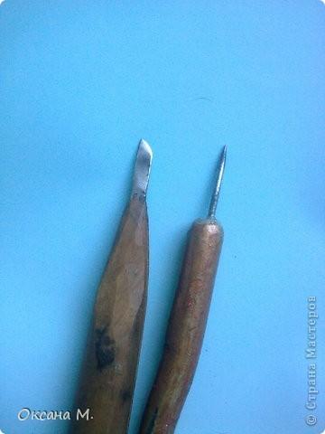 Это прорезная береста, рисунок сначала придумала на бумаге,потом перенесла на бересту с помощью кальки. Вырезала маленьким резачком. фото 8