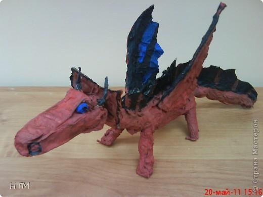 Этого дракона сделал Саша Крюков (1 класс). фото 3