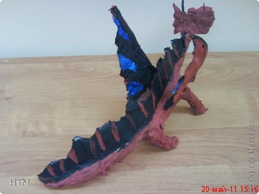 Этого дракона сделал Саша Крюков (1 класс). фото 2