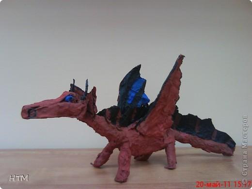 Этого дракона сделал Саша Крюков (1 класс). фото 1
