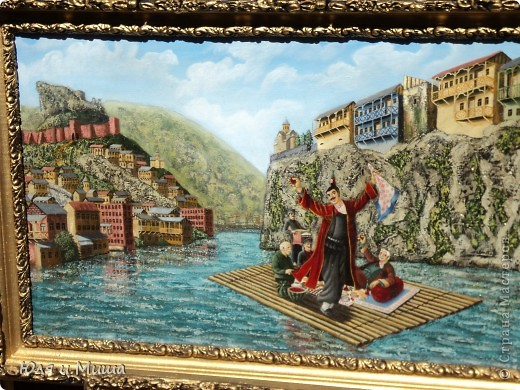 Сегодня, как и обещали, представляем Вашему вниманию картины грузинских художников.  фото 4