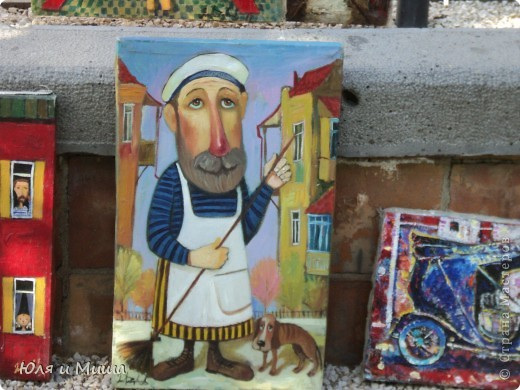 Сегодня, как и обещали, представляем Вашему вниманию картины грузинских художников.  фото 9