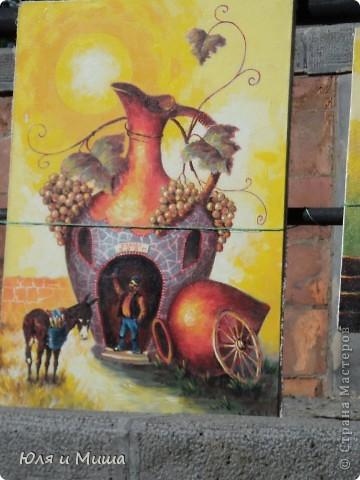 Сегодня, как и обещали, представляем Вашему вниманию картины грузинских художников.  фото 1