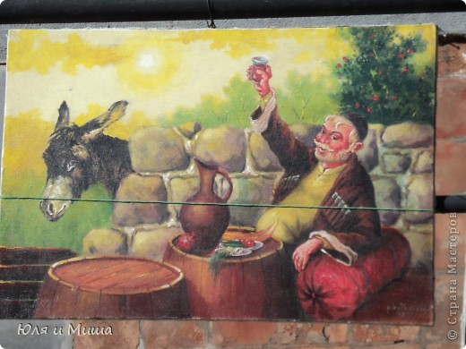 Сегодня, как и обещали, представляем Вашему вниманию картины грузинских художников.  фото 10