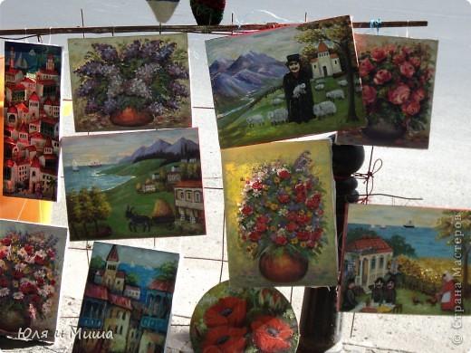 Сегодня, как и обещали, представляем Вашему вниманию картины грузинских художников.  фото 17