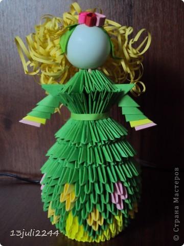 Идею создания такой вот куколки подсмотрела здесь https://stranamasterov.ru/node/165480  фото 40