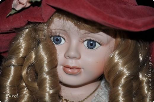 Знакомьтесь - это голландская кукла Ингеборг. Она большая - 73 см. фото 1