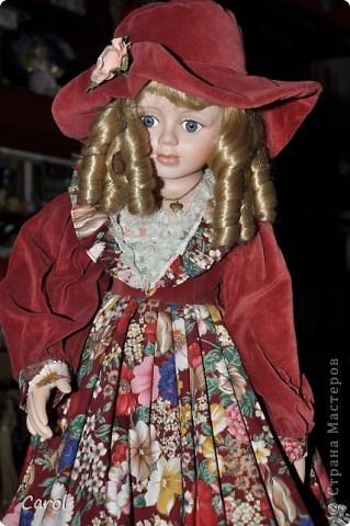 Знакомьтесь - это голландская кукла Ингеборг. Она большая - 73 см. фото 3