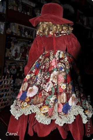 Знакомьтесь - это голландская кукла Ингеборг. Она большая - 73 см. фото 4