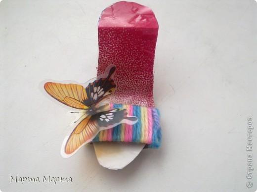 Скоро лето... Хочется чего-то веселого и летнего!Вот сделала такие радужные туфельки. фото 3