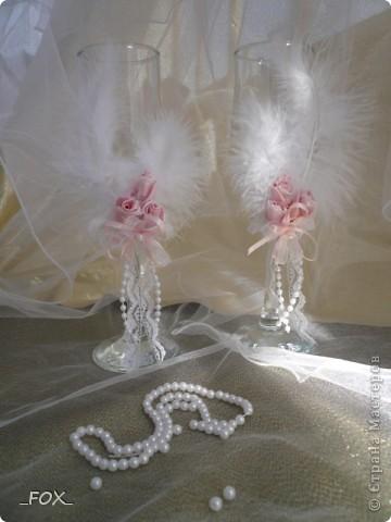 Свадебные бокальчики фото 3