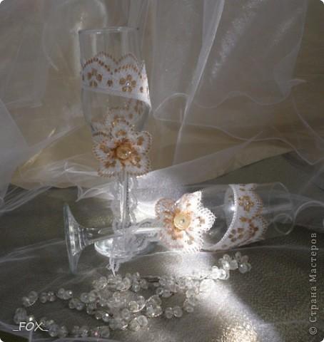 Свадебные бокальчики фото 6