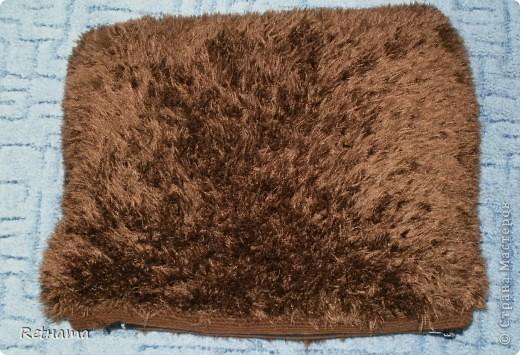 превращенная  с помощью спиц в подушечку на диван. Внутри подушечка  из Икеи. фото 1