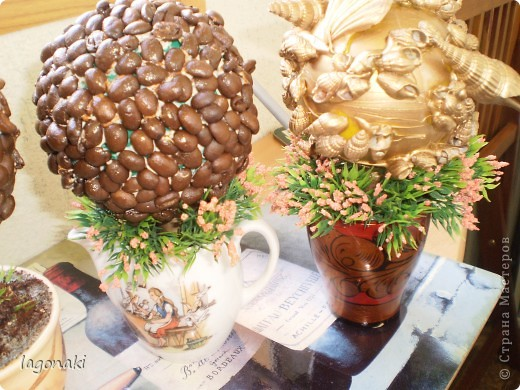 Vot navajala kofejnyh i morskoj tematiki derev'ev. фото 3