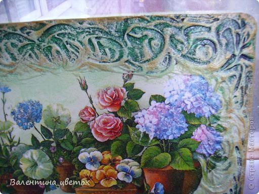 """Панно """"Олени"""". Материалы все те же, что и всегда, рельеф с использованием шпакрила, салфетка, подрисовка акриловыми красками, лак. фото 9"""