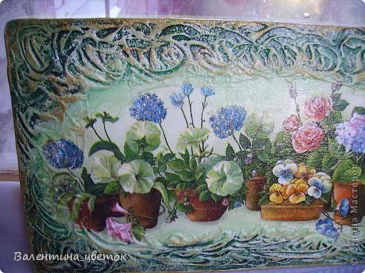 """Панно """"Олени"""". Материалы все те же, что и всегда, рельеф с использованием шпакрила, салфетка, подрисовка акриловыми красками, лак. фото 8"""