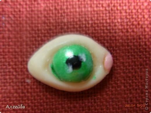 Глазки из пластика..... фото 1