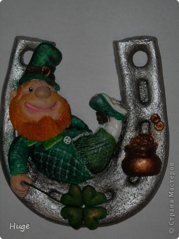 Вот такой улыбчивый ирландский фей вышел. фото 3