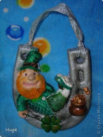 Вот такой улыбчивый ирландский фей вышел. фото 1