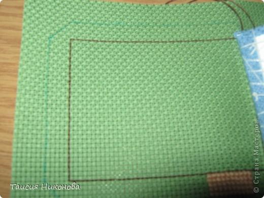объемный домик - готовый вид. правда, крышу скорее всего буду переделывать (сидит корявенько, и с цветом получается ерунда) фото 6